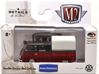 WALMART EXCLUSIVE - 1959 VW DOUBLE CAB RED & BLACK