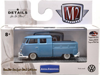 WALMART EXCLUSIVE - 1959 VW DOUBLE CAB LIGHT BLUE