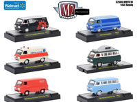 AUTO TRUCKS FORD ECONOLINE SET (WAL-MART EXC)