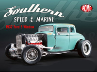 ACME 1:18 SOUTHERN SPEED & MARINE 1932 FORD(予約品)