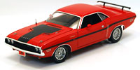 HIGHWAY 61 1/24 1970 DODGE CHALLENGER R/T RED 40th