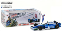 2017 INDY 500 #26 TAKUMA SATO WINNER CAR W/FIGURE