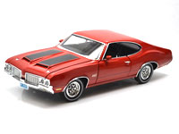 1970 OLDSMOBILE 442 W30 MATADOR RED Dr. OLDS #3
