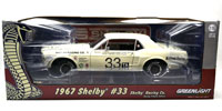 1967 FORD SHELBY MUSTANG #33 JERRY TITUS