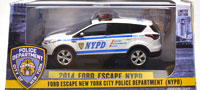 2014 FORD ESCAPE NEW YORK POLICE DEPARTMENT (NYPD)