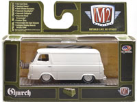 1963 FORD ECONOLINE - CHURCH VAN GO (PRIMER WHITE)