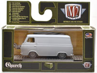 1963 FORD ECONOLINE - CHURCH VAN GO (PRIMER GRAY)