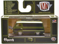 1963 FORD ECONOLINE - CHURCH VAN GO(GREEN)