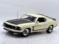 1969 FORD MUSTANG BOSS 302 50Th ANNIVERSARY (WHITE