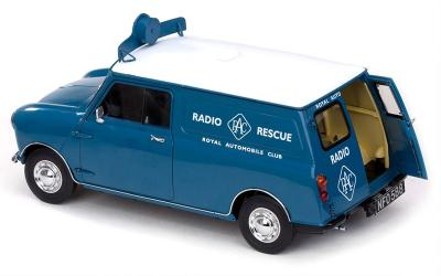 SUNSTAR1/12 1960 AUSTIN MORRIS MINI VAN RAC RESCUE