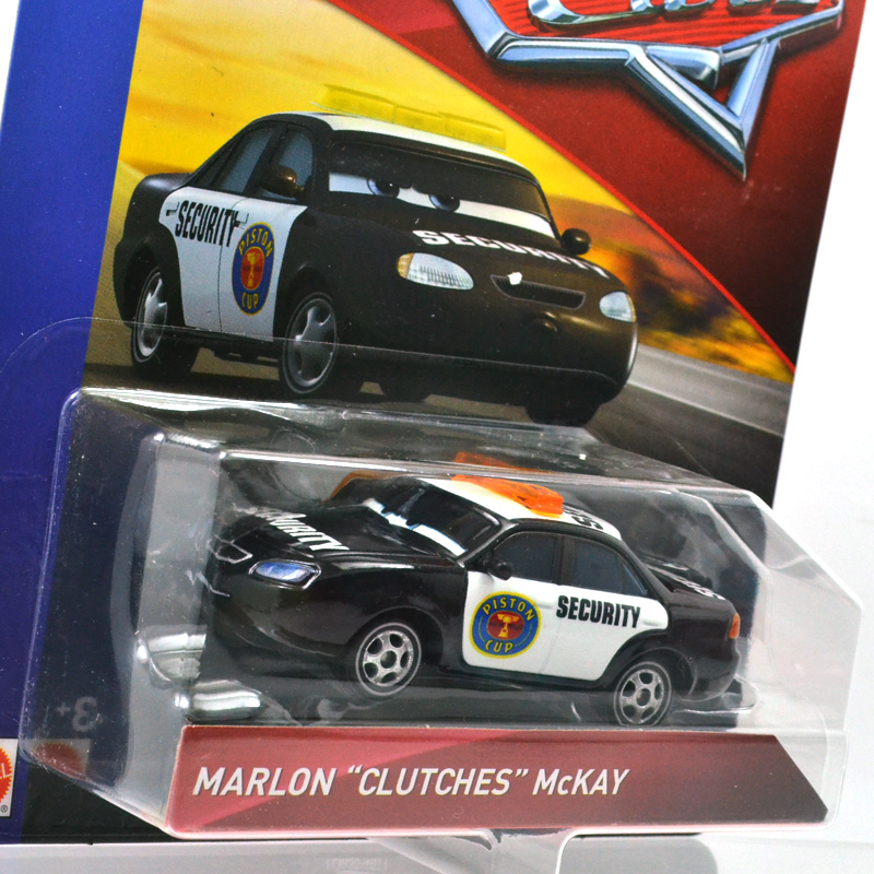 "DISNEY CARS PISTON CUP SERIES MARLON /""CLUTCHES/"" MCKAY"