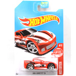 TARGET EXCLUSIVE RED EDITION - 2005 CORVETTE C6
