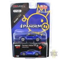PANDEM NISSAN GT-R R35 w/DUCK TAIL(VELOCITY BLUE)