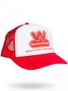 The World's Most Wanted Trucker Hat (RED)