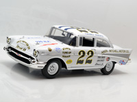 ACME 1:18 FIREBALL ROBERTS #22- 1957 CHEVY BEL AIR