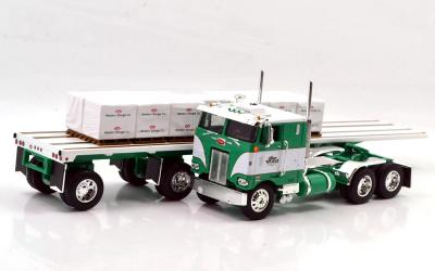 PETERBILT 352 w/FLATBED  GEORGE VAN DYKE TRUCKING