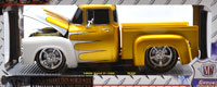 1956 FORD F-100 PICKUP TRUCK (GOLD/WHITE SCALLOPS)