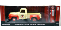 1953 FORD F-100 TEXACO WITH VINTAGE TEXACO GAS PUM