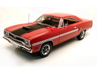 1970 PLYMOUTH GTX RALLYE RED