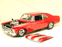 1968 CHEVY II DRAG NOVA RED