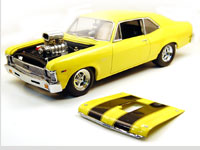 1968 CHEVY II DRAG NOVA YELLOW