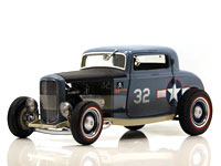 1932 FORD 3 WINDOW COUPE F432