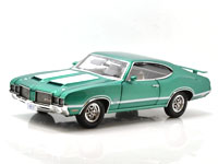 1972 OLDSMOBILE 442 W30 RADIANT GREEN
