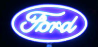 DESKTOP NEON STYLE SIGN FORD