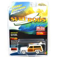 MIJO TOYS - SURF RODS 1950 MERCRY WOODY WAGON(WHIT