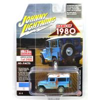 MIJO TOYS - 1980 TOYOTA LAND CRUISER - BLUE RUSTED