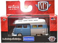 1959 VW DOUBLE CAB TRUCK USA MODEL CAMPER(BLUE)