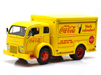 "1955 WHITE DELIVERY TRUCK  ""COCA-COLA"""