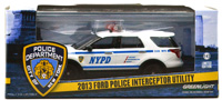 2013 FORD POLICE INTERCEPTOR UTILLITY - NYPD