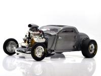 "GMP 1:18 1934 BLOWN ALTERED COUPE ""RAW STEEL"""