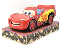 DISNEY TRADITIONS PIXAR CARS LIGHTNING McQUEEN