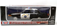MOTOR MAX 1:18 2001 FORD CROWN VICTORIA CHP