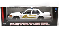 MOTOR MAX 1:18 2001 FORD CROWN VICTORIA SHERIFF