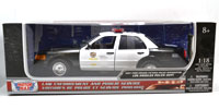 MOTOR MAX 1:18 2001 FORD CROWN VICTORIA LAPD