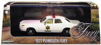 1977 PLYMOUTH FURY - HAZZARD COUNTRY SHERIFF