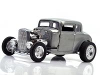 ACME 1:18  1932 FORD 5 WINDOW COUPE-HAMMERED STEEL