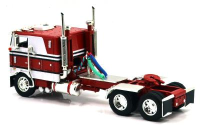 PETERBILT 352 w/SPREAD-AXLE LIVESTOCK TRAILER