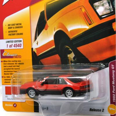 1982 FORD MUSTANG GT(RED)