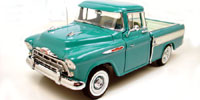 1957 TURQUISE CHEVY CAMEO CARRIER
