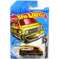 CUSTOM '77 DODGE VAN (GOLD)