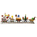 Christmas Train Sculpture