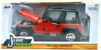1992 JEEP WRANGLER (RED)