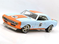 GMP1:18 1968 CAMARO #6 GULF OIL STREET FIGHTER