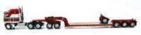 KENWORTH K-100 AERODYNE WHITE/RED RED FONTAINE