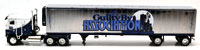 KENWORTH K100 FLAT TOP W/REFRIGERATED CHROME