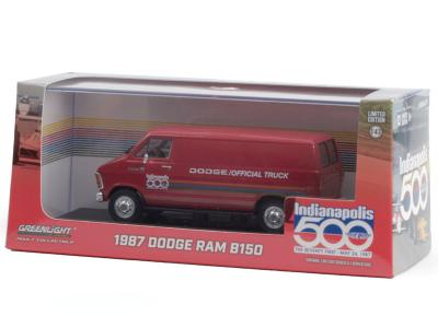 1987 DODGE RAM B150 VAN - 71st INDY OFFICIAL TRUCK